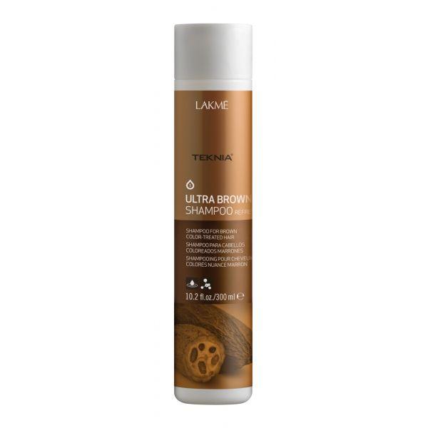 Lakme Teknia Ultra Brown Shampoo 啡系洗髮水300ml Lyk Online