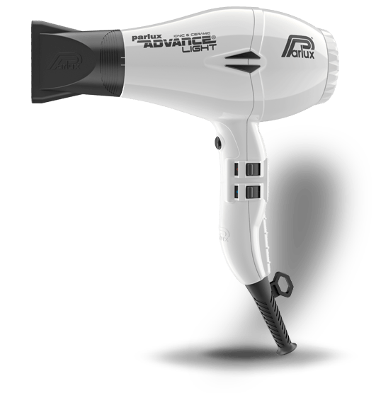 Parlux Advance Light Hair Dryer White