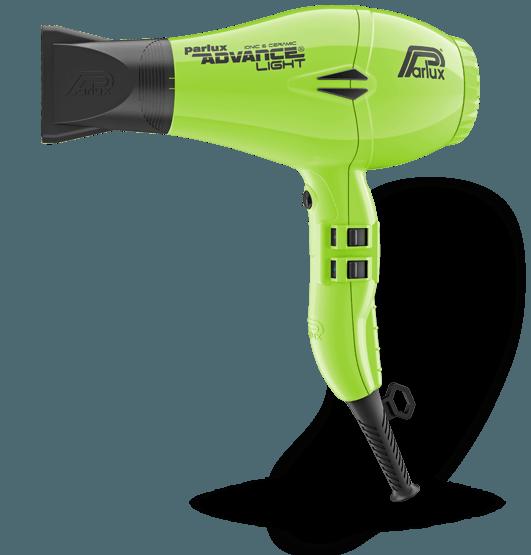 Parlux Advance Light Hair Dryer Green