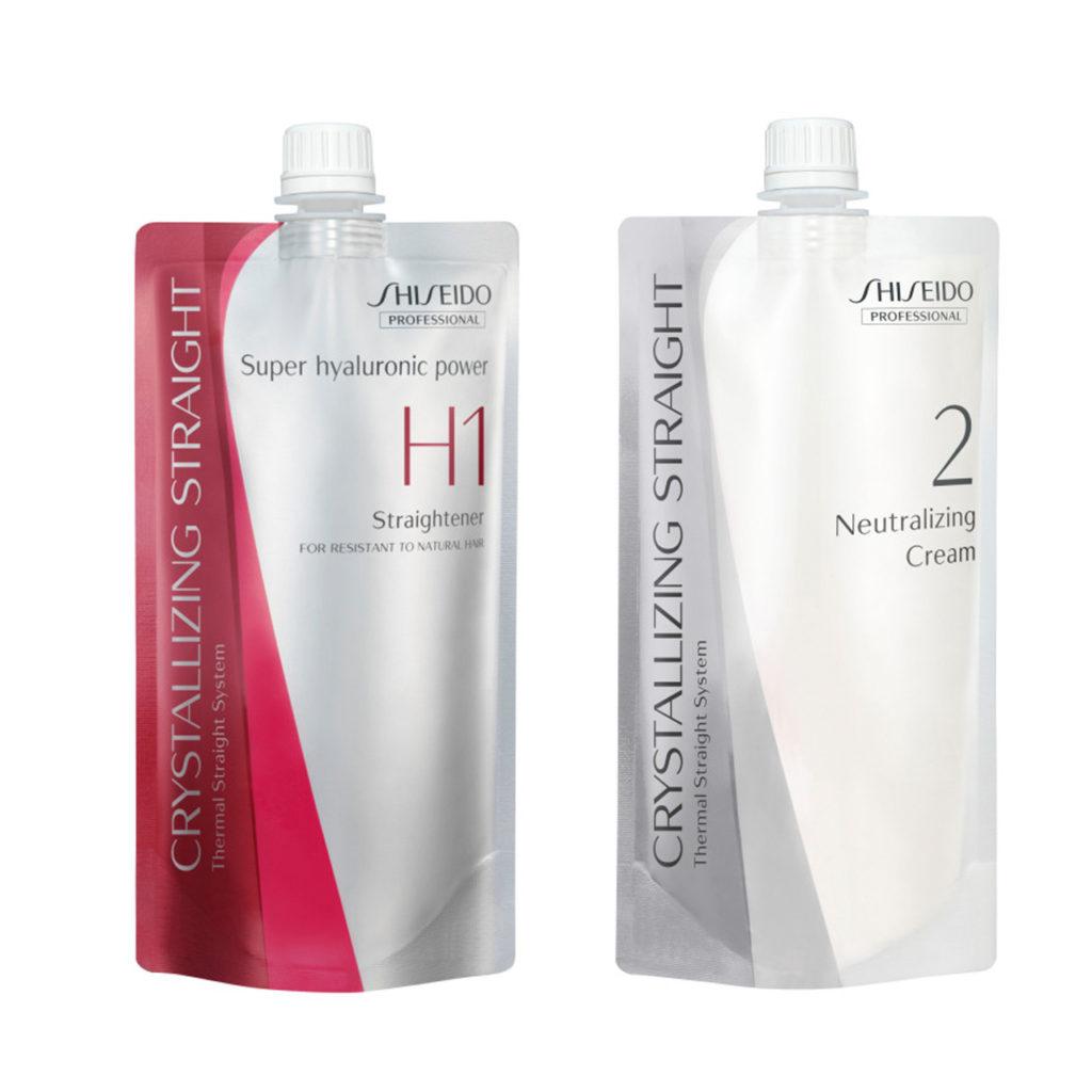 Shiseido Professional Crystallizing Hair Straightener H1+2