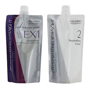 Shiseido Professional Crystallizing Hair Straightener EX1+2